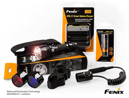 Fenix TK22 2014 SRVA-valaisinpaketti akulla